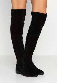 Kurt Geiger London - RIVA - Botas mosqueteras - black - 0