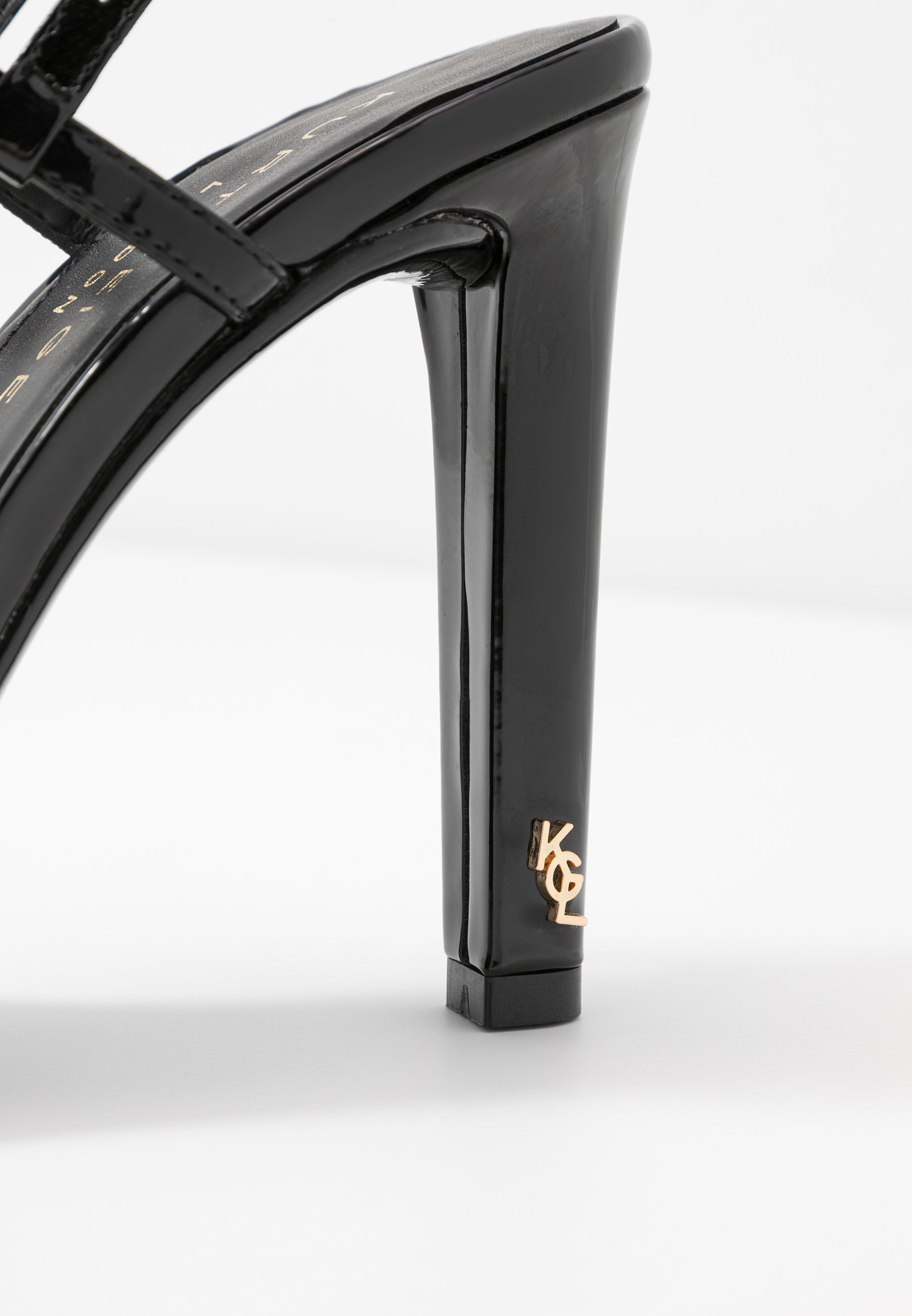 Kurt Geiger London BRINLEY - Sandaler med høye hæler - black