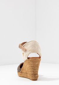 Kurt Geiger London - MONTY MONOGRAM - High heeled sandals - brown - 5