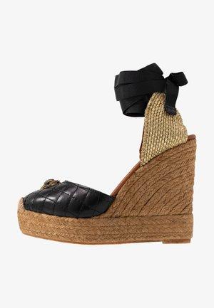 KARMEN - Sandály na vysokém podpatku - black