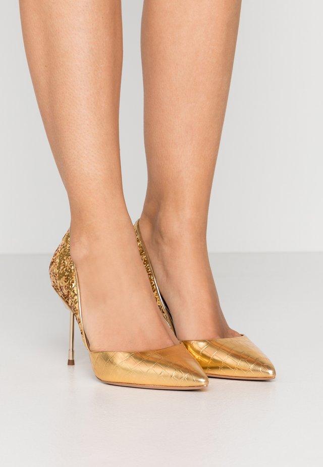 BOND  - Højhælede pumps - gold