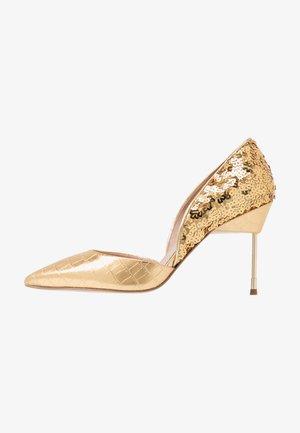 BOND  - Lodičky na vysokém podpatku - gold