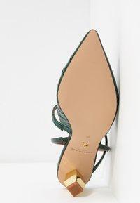 Kurt Geiger London - DELLA SLING - Classic heels - dark green - 6