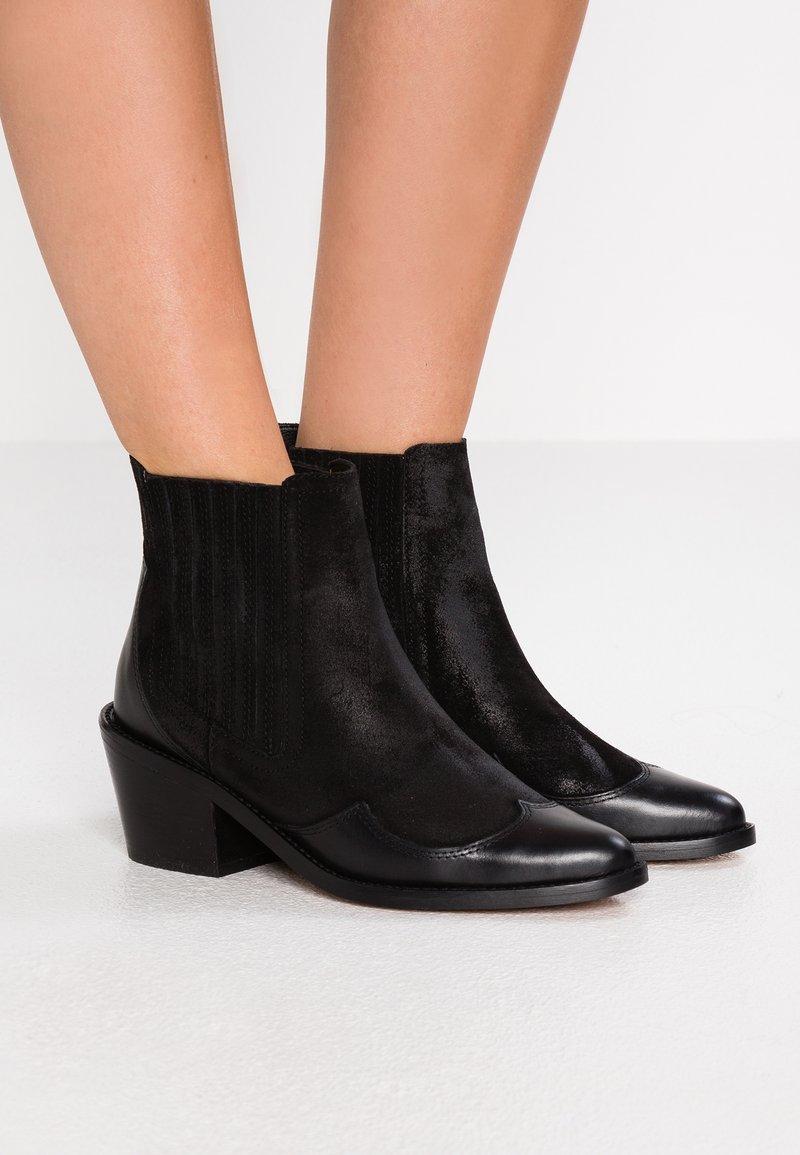 Kurt Geiger London - RAIDEN - Ankle boots - black