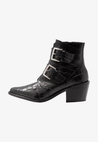 Kurt Geiger London - DENNY - Stivaletti texani / biker - black - 1