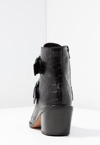 Kurt Geiger London - DENNY - Stivaletti texani / biker - black - 5