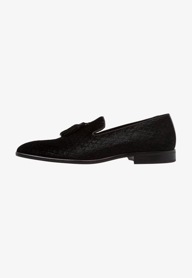 RANDOLPH - Smart lace-ups - black