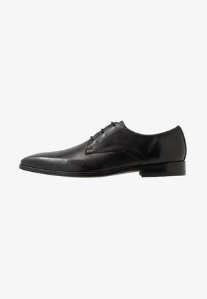 ROBERT LACE UP - Eleganta snörskor - black