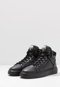 Kurt Geiger London - JACOBS TOP STUD - Sneakersy wysokie - black - 2