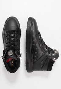 Kurt Geiger London - JACOBS TOP STUD - Sneakersy wysokie - black - 1