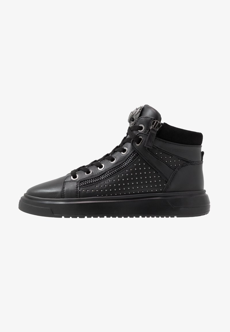 Kurt Geiger London - JACOBS TOP STUD - Sneakersy wysokie - black
