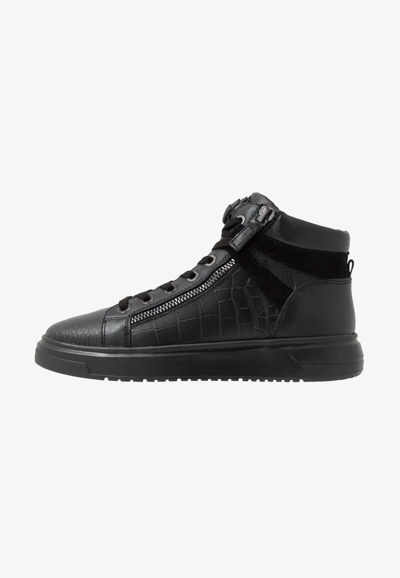 Kurt Geiger London - JACOBS TOP STUD - Sneaker high - black