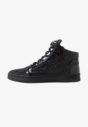 JACOBS - Sneakersy wysokie - black