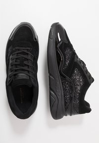 Kurt Geiger London - STREATHAM - Sneaker low - glitter black - 1