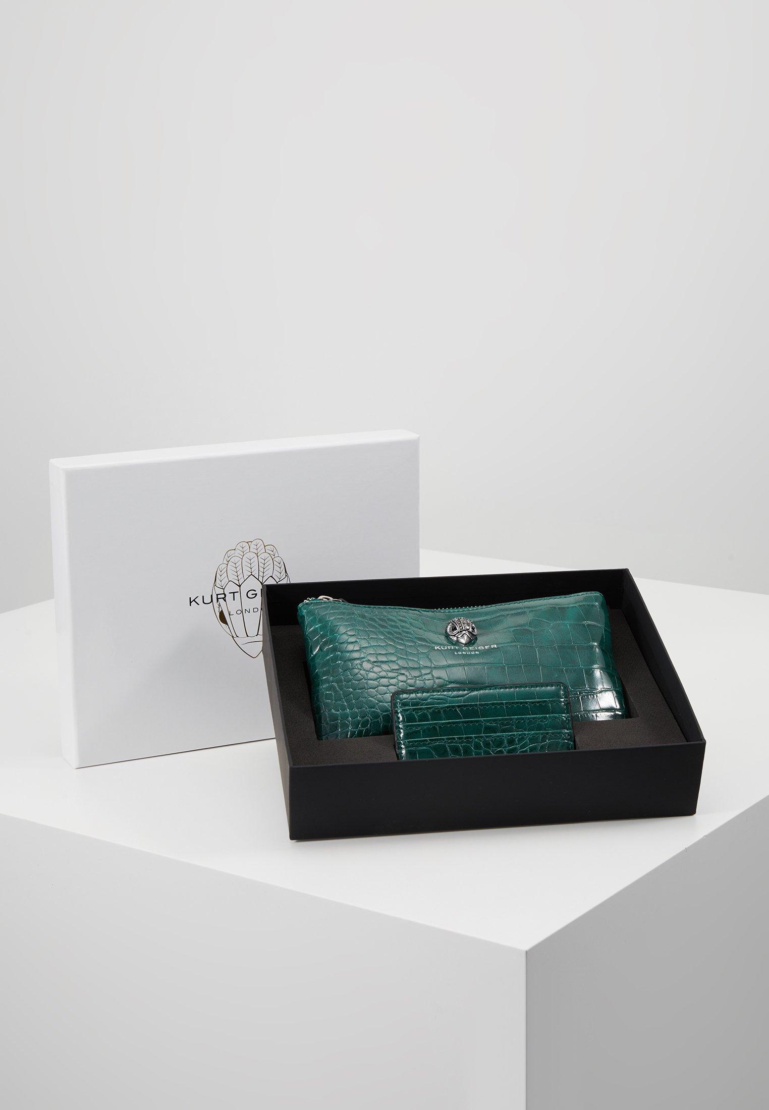 Teal Pouch Gift SetPortefeuille Kurt Geiger London 8NvmnwO0