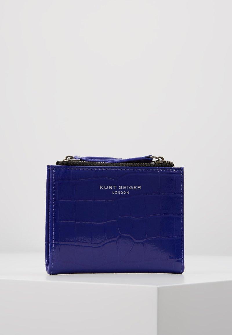 Kurt Geiger London - CROC MINI PURSE - Peněženka - purple