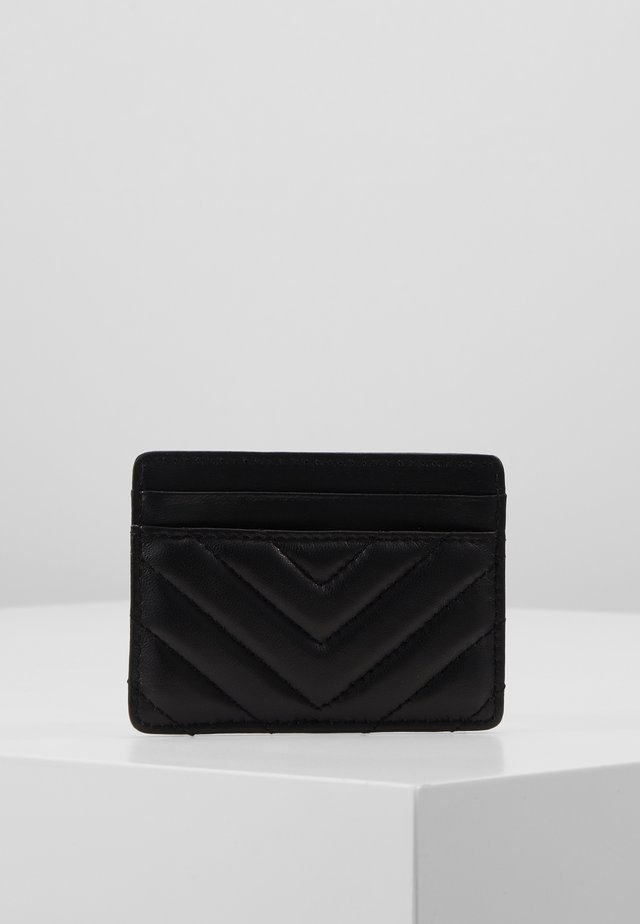 CARD HOLDER - Lommebok - black