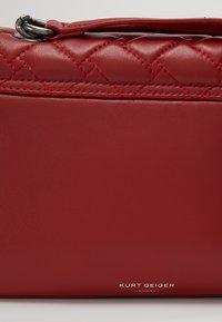 Kurt Geiger London - KENSINGTON BAG - Käsilaukku - red - 5