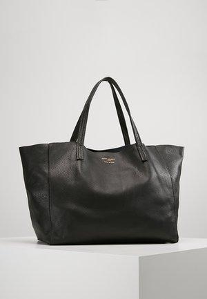 VIOLET HORIZONTAL TOTE - Tote bag - black