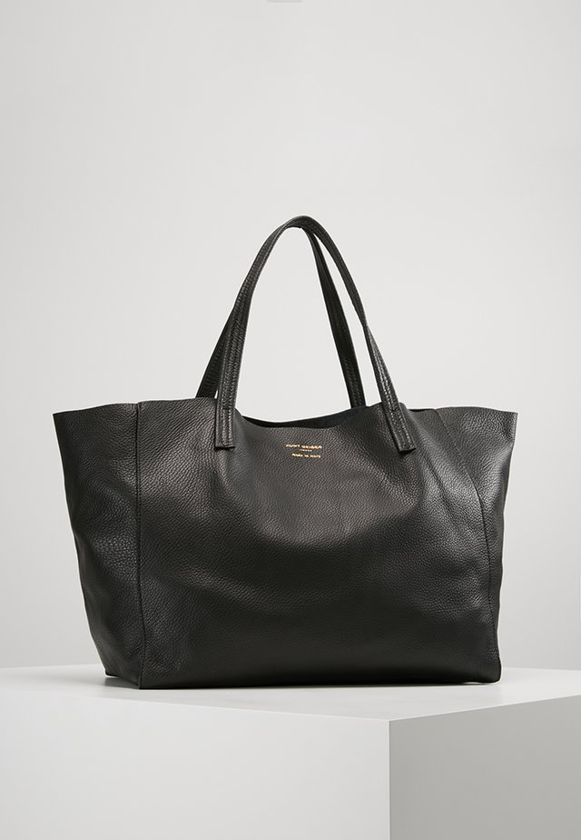 VIOLET HORIZONTAL TOTE - Shoppingveske - black