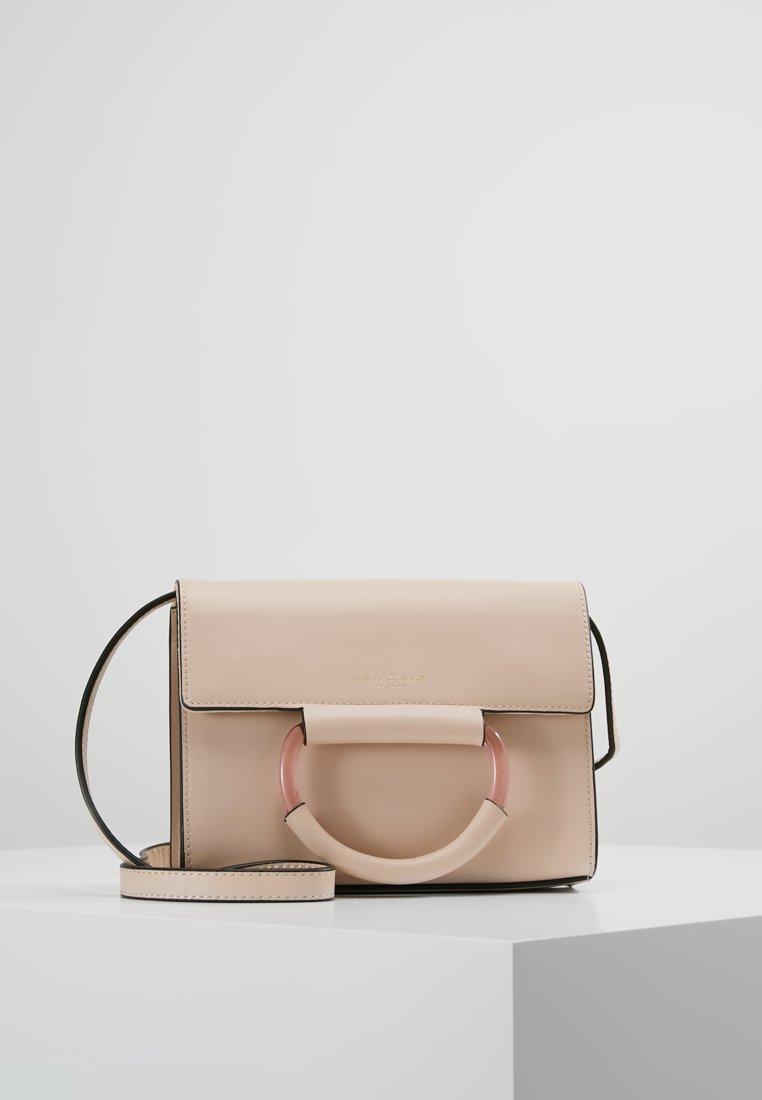 Kurt Geiger London - HARRIET CROSS BODY - Across body bag - pink