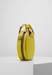 Kurt Geiger London - HARRIET CROSSBODY - Across body bag - yellow - 3