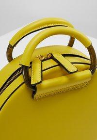 Kurt Geiger London - HARRIET CROSSBODY - Across body bag - yellow - 5