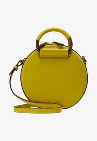Kurt Geiger London - HARRIET CROSSBODY - Across body bag - yellow - 7