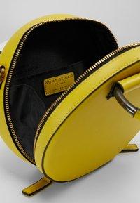 Kurt Geiger London - HARRIET CROSSBODY - Across body bag - yellow - 4