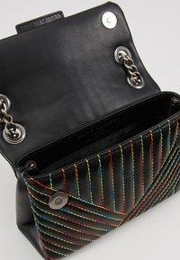 Kurt Geiger London - MINI KENSINGTON BAG - Across body bag - black/multi-coloured - 4