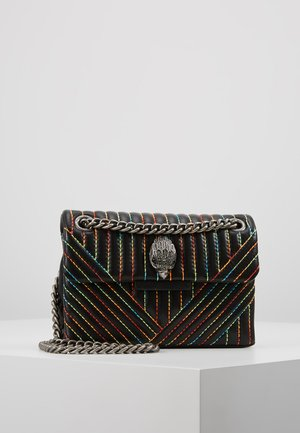 MINI KENSINGTON BAG - Skuldertasker - black/multi-coloured