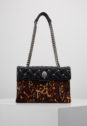 KENSINGTON BAG - Kabelka - black/brown