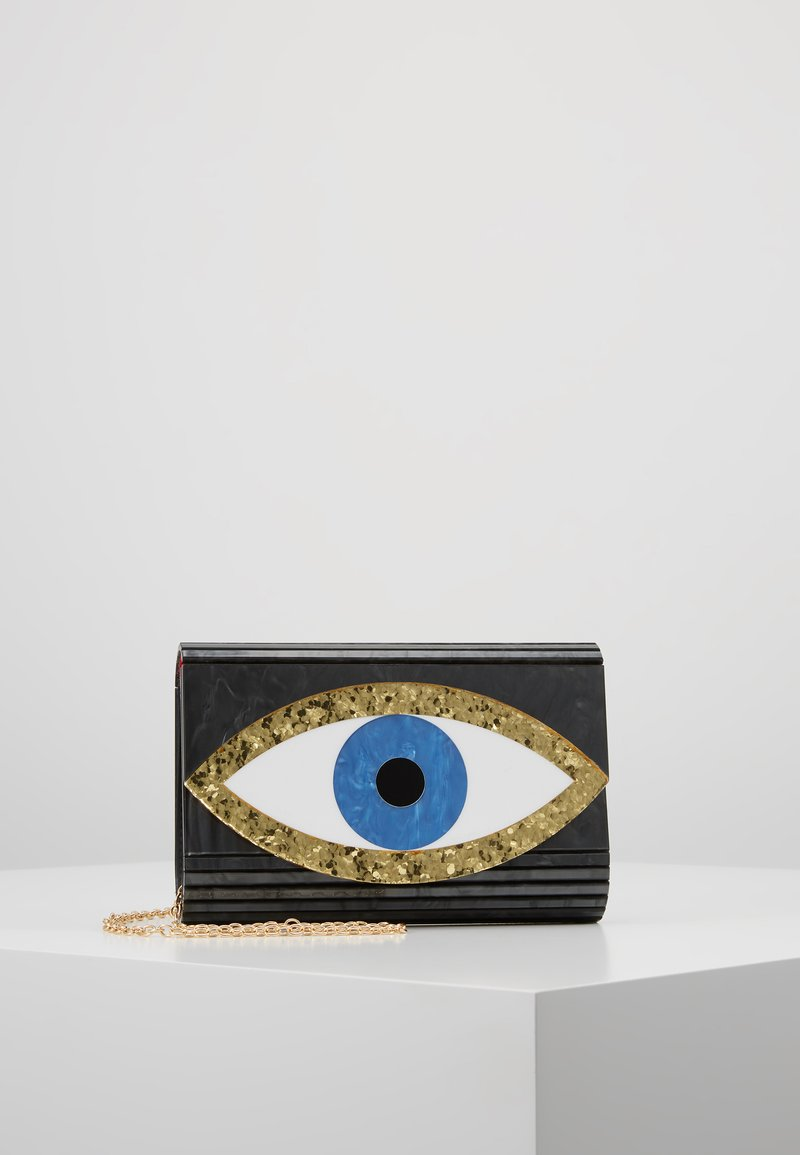 Kurt Geiger London - EYE PARTY ENVELOPE - Olkalaukku - black