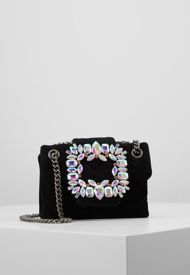 MINI MAYFAIR BAG - Umhängetasche - black