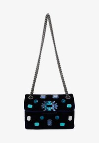 Kurt Geiger London - EXCLUSIVE MINI MAYFAIR BAG - Skuldertasker - dark blue - 5