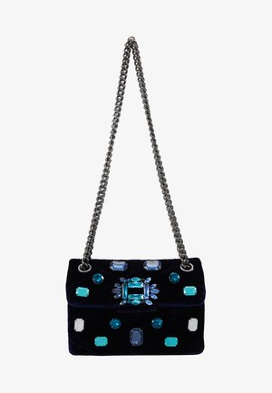 EXCLUSIVE MINI MAYFAIR BAG - Torba na ramię - dark blue