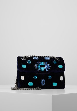 EXCLUSIVE MINI MAYFAIR BAG - Across body bag - dark blue