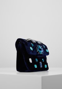 Kurt Geiger London - EXCLUSIVE MINI MAYFAIR BAG - Skuldertasker - dark blue - 3