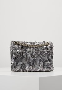 Kurt Geiger London - EXCLUSIVE MINI KENS BAG - Across body bag - silver - 2