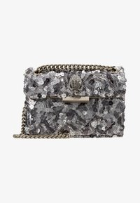 Kurt Geiger London - EXCLUSIVE MINI KENS BAG - Across body bag - silver
