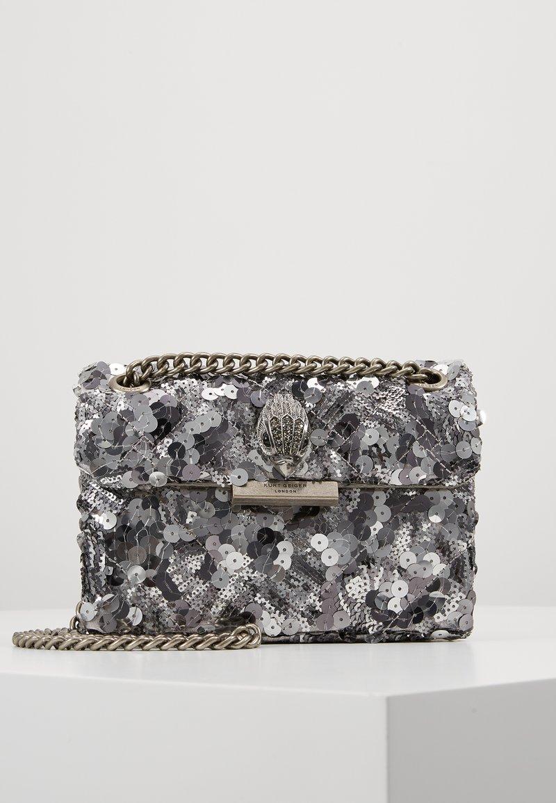 Kurt Geiger London - EXCLUSIVE MINI KENS BAG - Across body bag - silver
