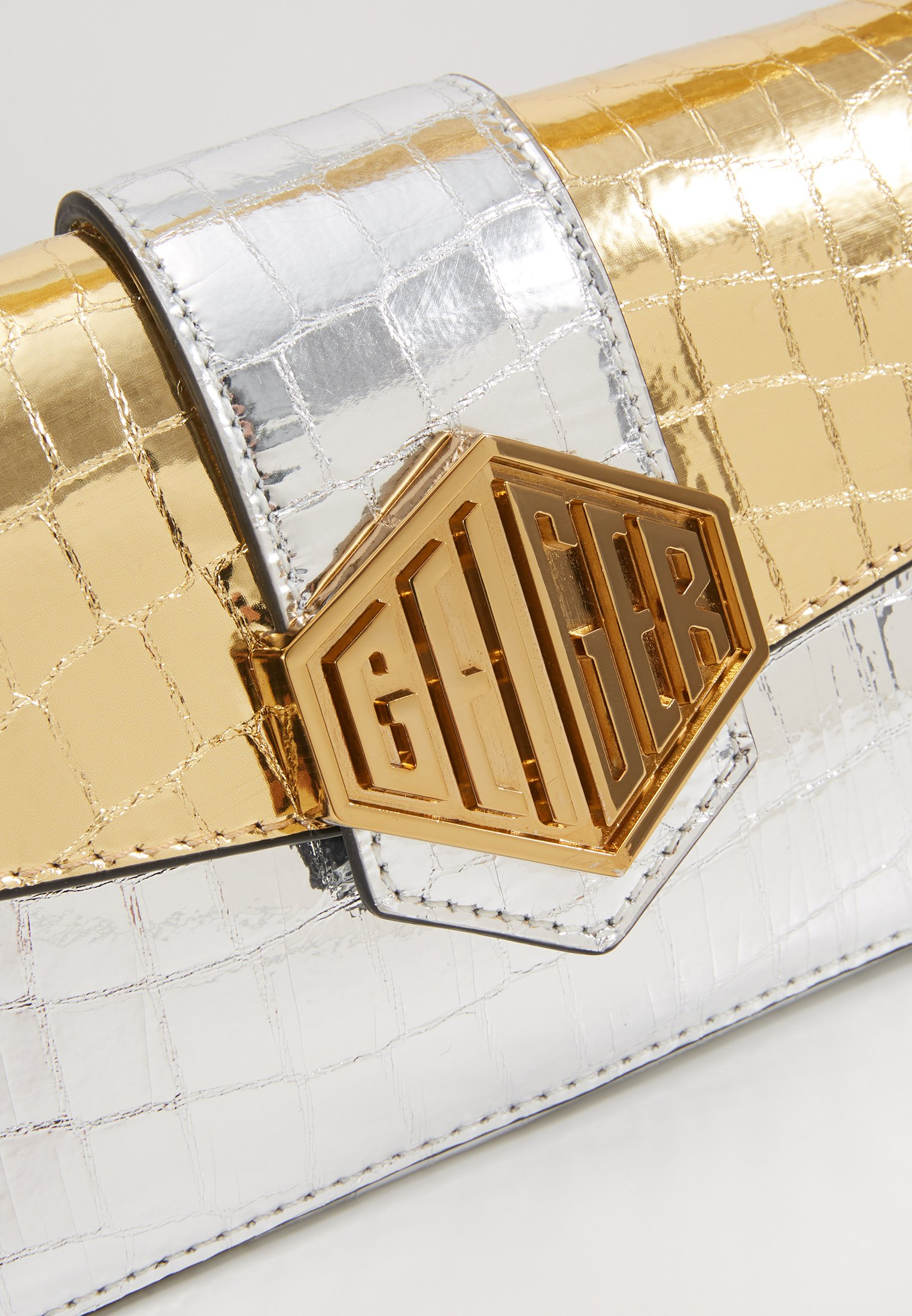 Kurt Geiger London Mini Bag - Borsa A Mano Metal Comb 8A9XwDt