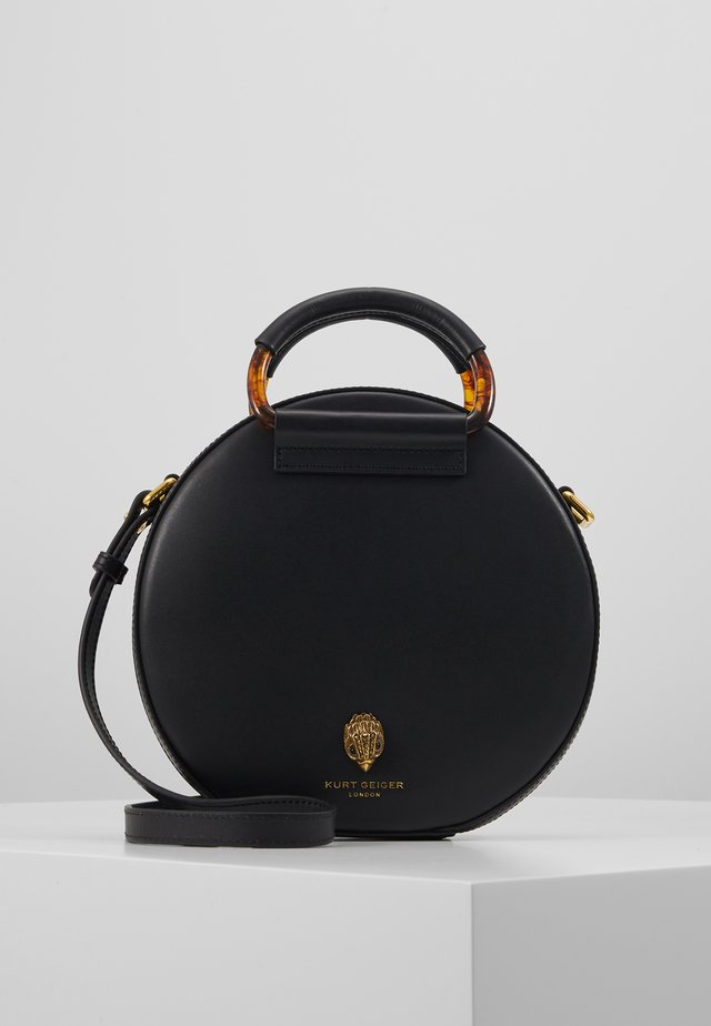 HARRIET ROUND X BODY - Handtasche - black