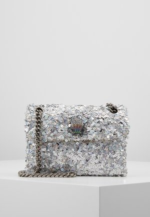 SEQUINS MINI KENS BAG - Across body bag - silver com