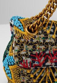 Kurt Geiger London - TWEED MINI KENSINGTON X - Across body bag - multicolor - 7