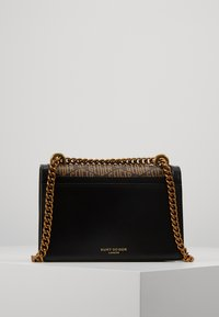 Kurt Geiger London - MONOGRAM SHOREDITCH - Torba na ramię - black/brown - 2