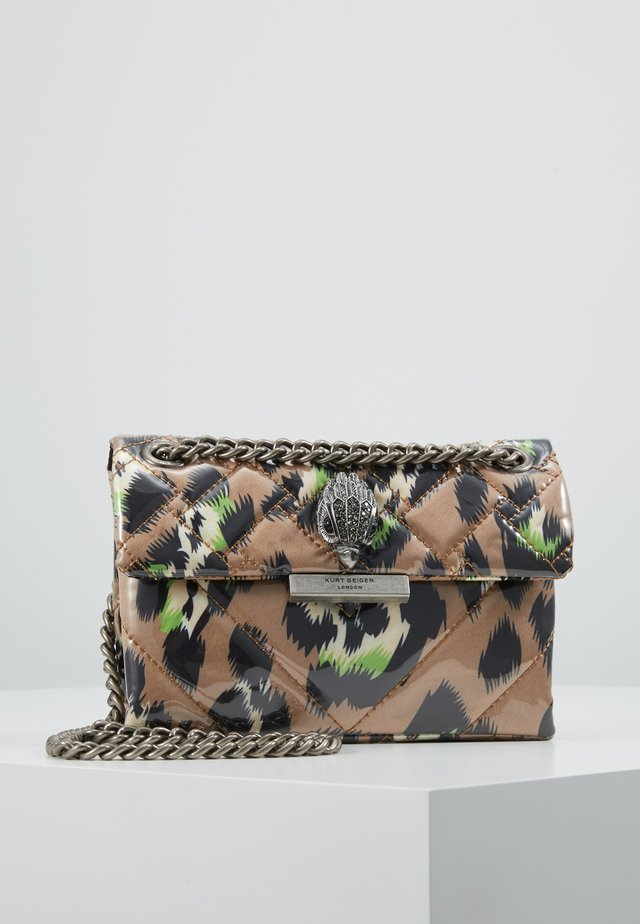 FABRIC MINI KENSINGTON  - Across body bag - camel