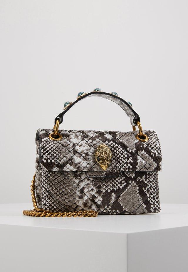 MINI KENSINGTON BAG - Handtasche - grey mid