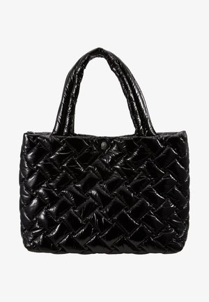 PUFFER  - Shopping bag - black