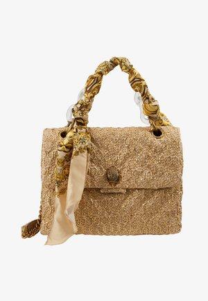 RAFFIA LG KENSI - Handbag - camel